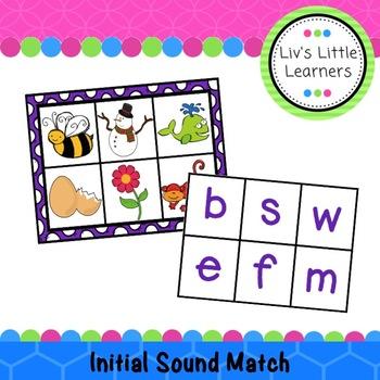 Initial Sound Match or Bingo
