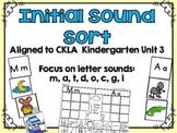 Initial Sound Match Activity CKLA Kindergarten Skills Unit 3