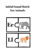 Initial Sound Match Animals