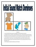 Initial Sound Match Dominoes