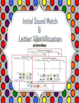Initial Sound Match & Letter Recognition