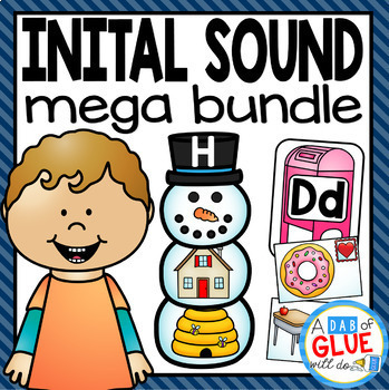 Initial Sound Match-Up Mega Bundle