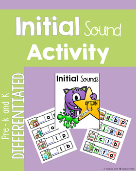 Initial Sound Monsters ~ Differentiated