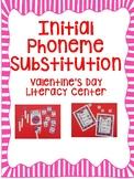 Initial Sound Phoneme Substitution- Valentine's Day Litera