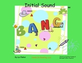 Initial Sound Picture Cards & Letter Cards for Bang & Other Lang Arts Activities