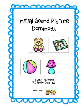 Initial Sound Picture Dominoes