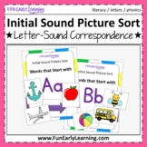 Initial Sounds Activity - Beginning Sounds Picture Sort