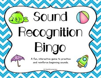 {Initial} Sound Recognition Bingo