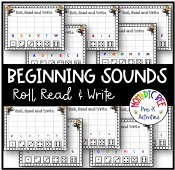 Letter Sound Roll, Read and Write