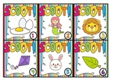 Initial Sound Scoot - Whole Class Alphabet Game #easterdollardeals