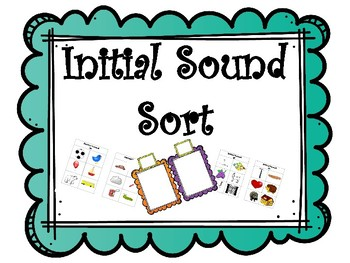 Initial Sound Sort!