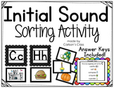 Initial Sound Sorting Activity