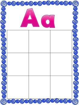 Letter Sound Sorting mats