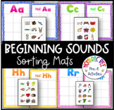 Letter Sound Sorting mats