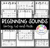 Letter Sound Cut-and-Paste worksheets