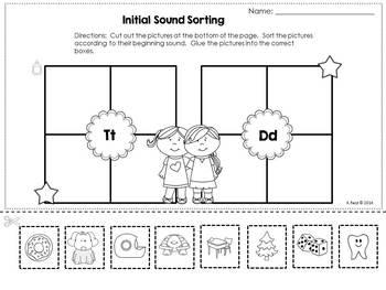 Beginning Sound Activities