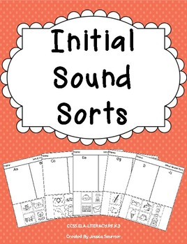 Initial Sound Sorts PRINTABLES