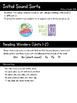 Initial Sound Sorts (Reading Wonders Kindergarten Units 1 & 2)