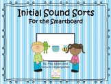 Initial Sound Sorts for the Smartboard