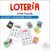 Initial Sound Spanish Bingo