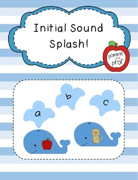 Initial Sound Splash! (Game for Initial Sound Recognition)