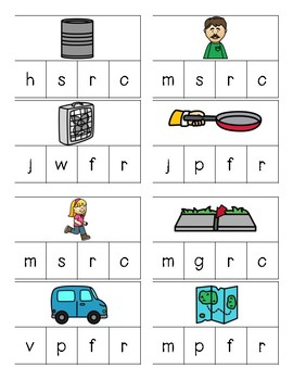 Initial Sound Word Work