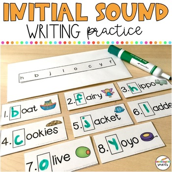 Initial Sound Writing Practice