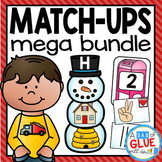 Initial Sound and Number Match-Up Mega {Growing} Bundle