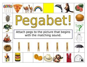 """Initial Sound """"pegabet"""""""