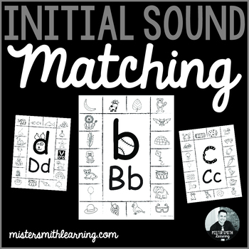Initial Sound to Letter Matching Activity
