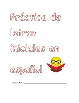 Initial SoundPractice with Spanish Vocabulary