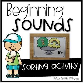 Initial Sounds- Alphabet - Literacy Center