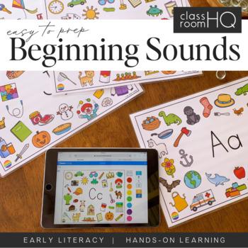 Initial Sounds Alphabet Mats