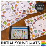 Initial Sounds Alphabet Mats BUNDLE