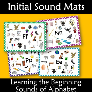 Initial Sounds Alphabet Mats