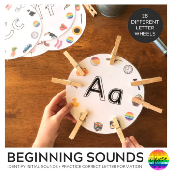 Initial Sounds Alphabet Wheels