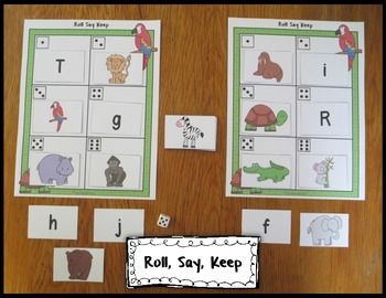 Beginning Sounds At the Zoo Activities and Games