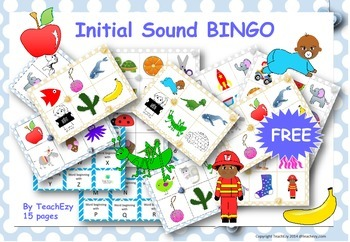 Initial Sounds Bingo