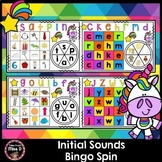 Initial Sounds Bingo Spin