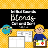 Initial Sounds - Blends - Cut and Sort Booklet