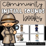 Initial Sounds Book for Emergent Readers {Community Helpers}