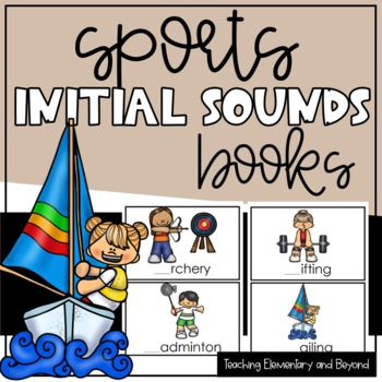 Initial Sounds Book for Emergent Readers {Sports and Activities}
