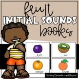 Initial Sounds Book for Emergent Readers {Fruit Words}