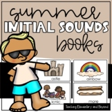 Initial Sounds Book for Emergent Readers {Summer Fun Words}