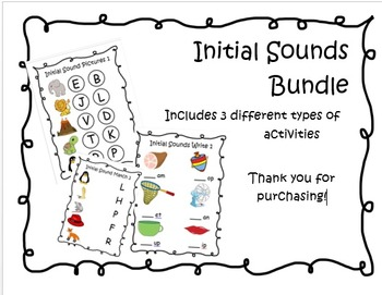 Initial Sounds Bundle