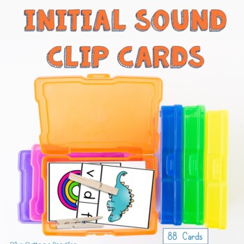 Initial Sounds Clip Cards