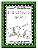 Initial Sounds Clip Cards - Phonological Awareness Interve