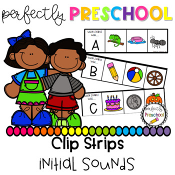 Initial Sounds Clip Strips