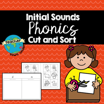 Initial Sounds Cut and Sort Booklet