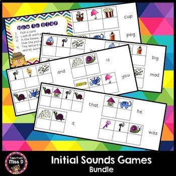 Initial Sounds Games Bundle